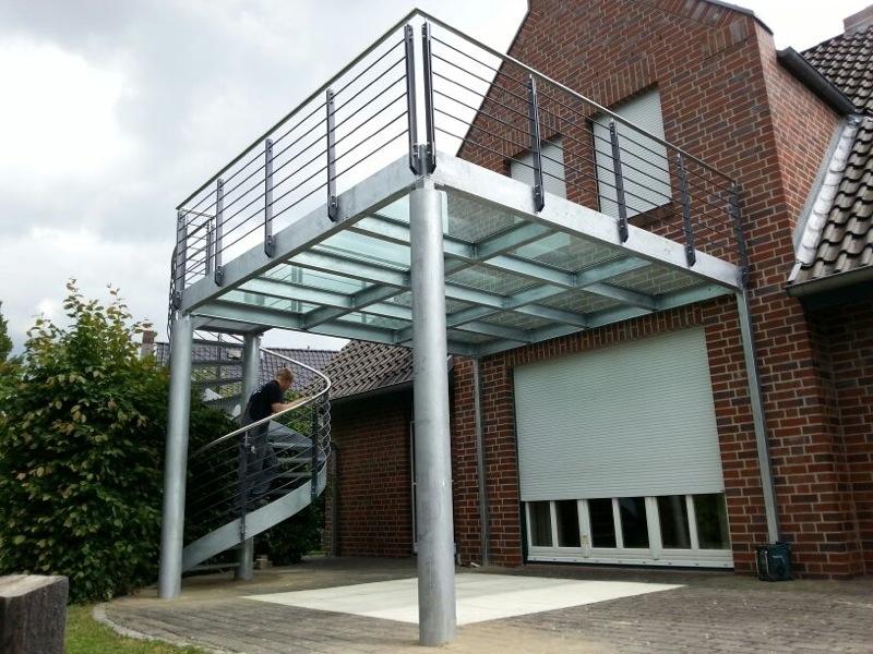 Referenzen - Metallbau bei Hamburg und Bremen von Peimann – Stahlhandel